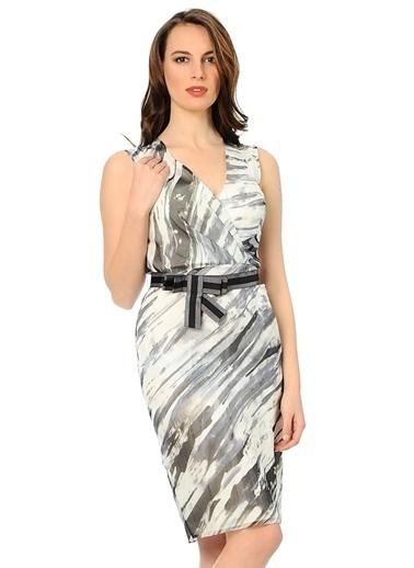 Asymmetry Elbise Siyah